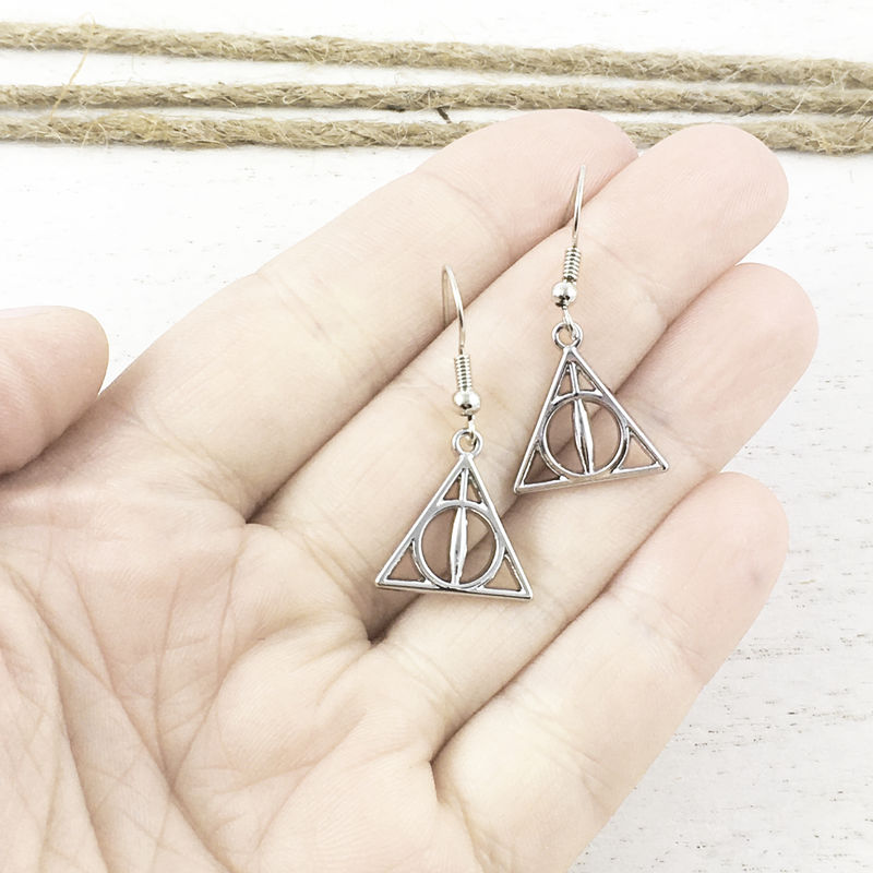 Deathly Hallows Earrings - product images  of