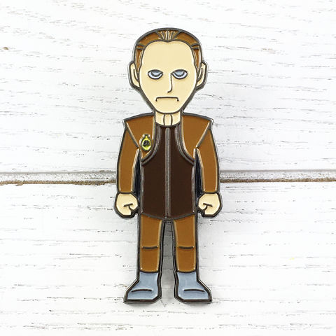 Star,Trek,Odo,Enamel,Pin,odo, enamel pin, star trek, ds9, deep space nine, character, figural, fansets, official, rene auberjonois