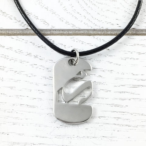 Superman,Mini,Dog,Tag,Necklace,superman, necklace, enamel. classic, pendant, silver, colour, red, yellow, stainless steel, man of steel