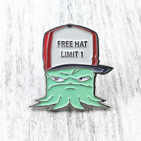 Squidbillies,Early,Enamel,Pin,adult swim, squidbillies, early, enamel pin, metal, kidrobot