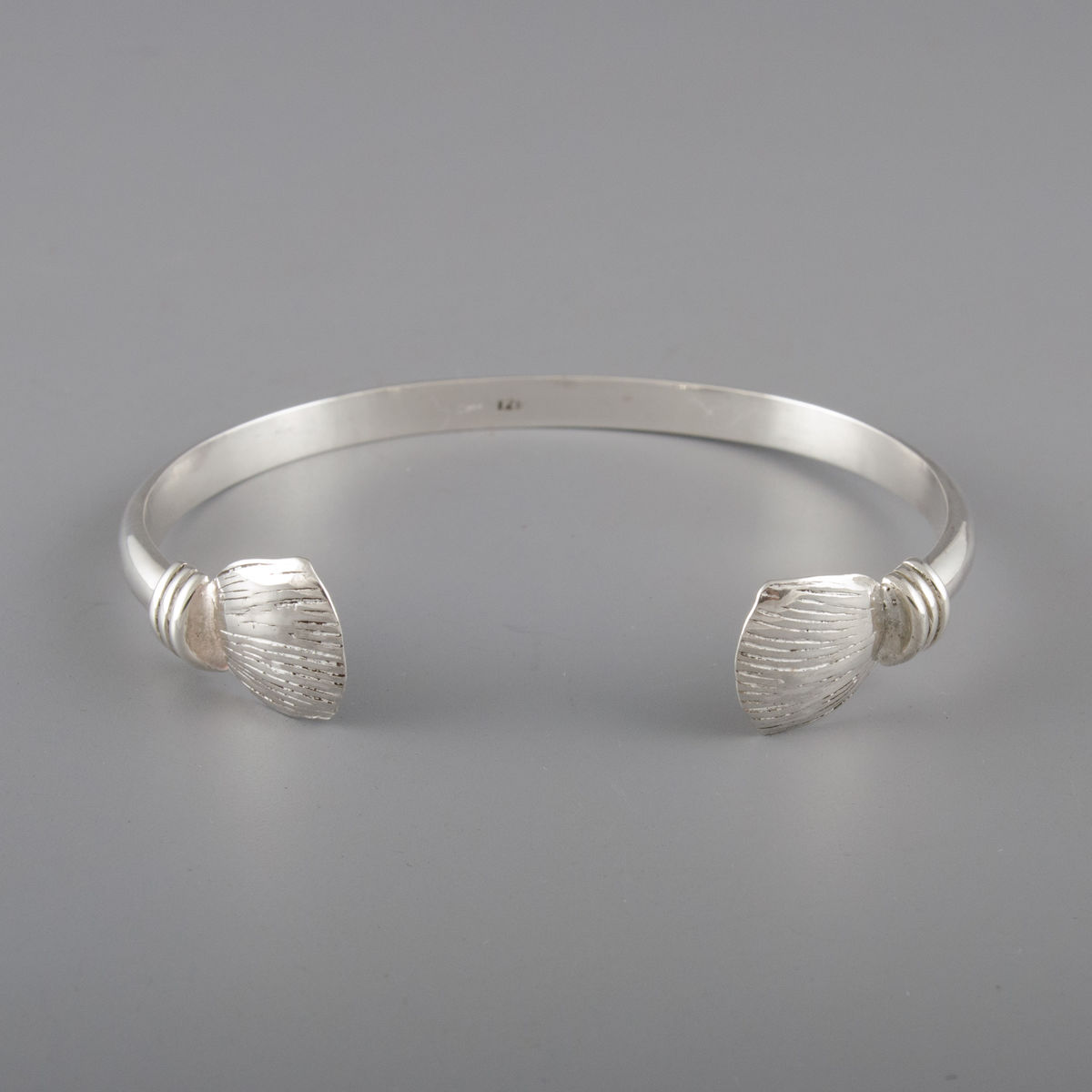 Sterling Silver Pangolin Scale Bracelet - product image