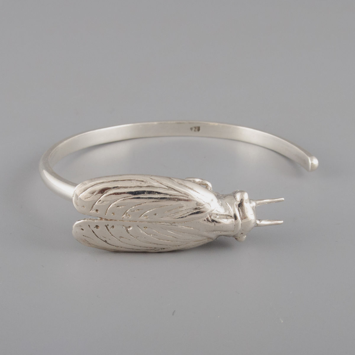 Sterling Silver Cicada Bracelet - product image