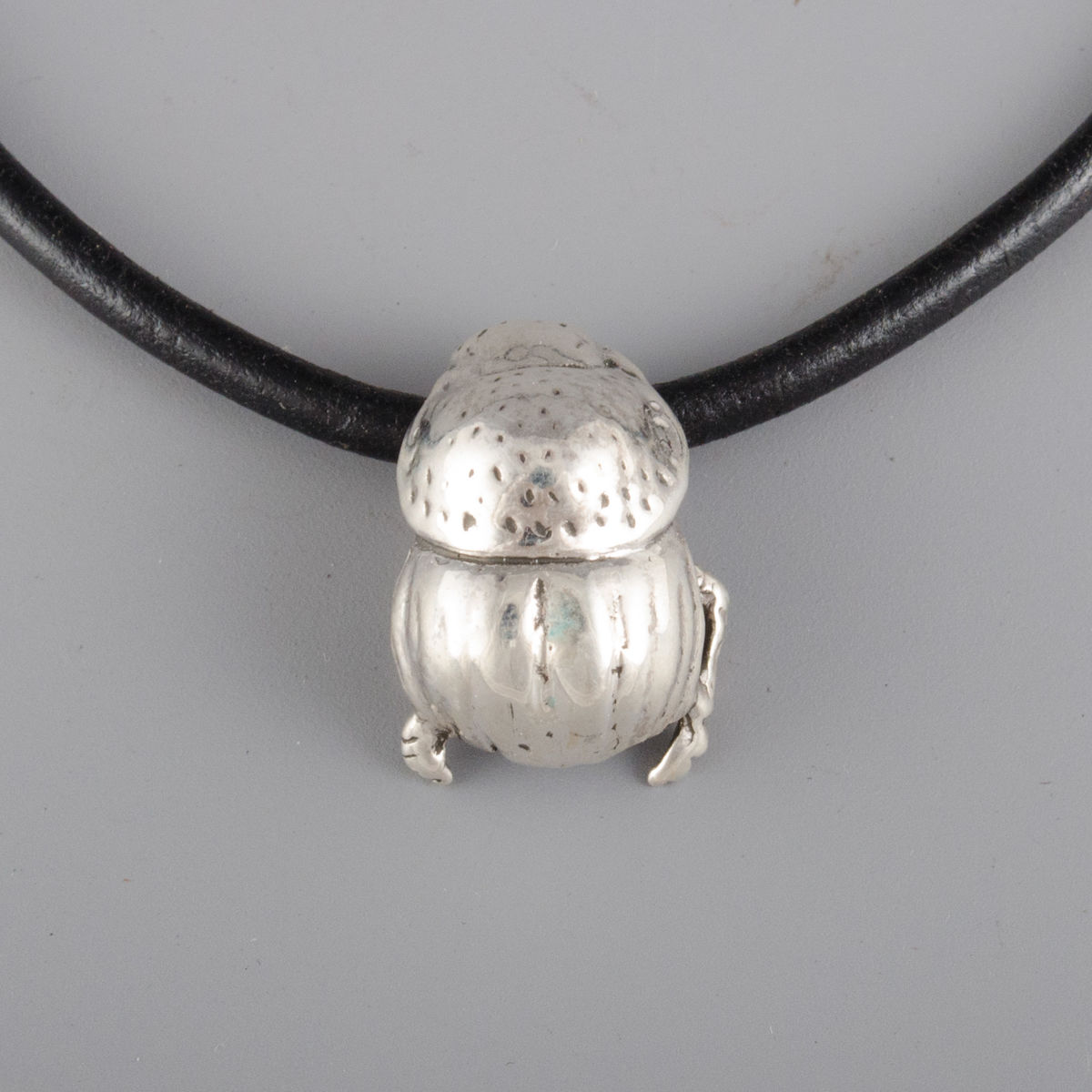 Sterling Silver Small Dung Beetle Pendant - product images  of