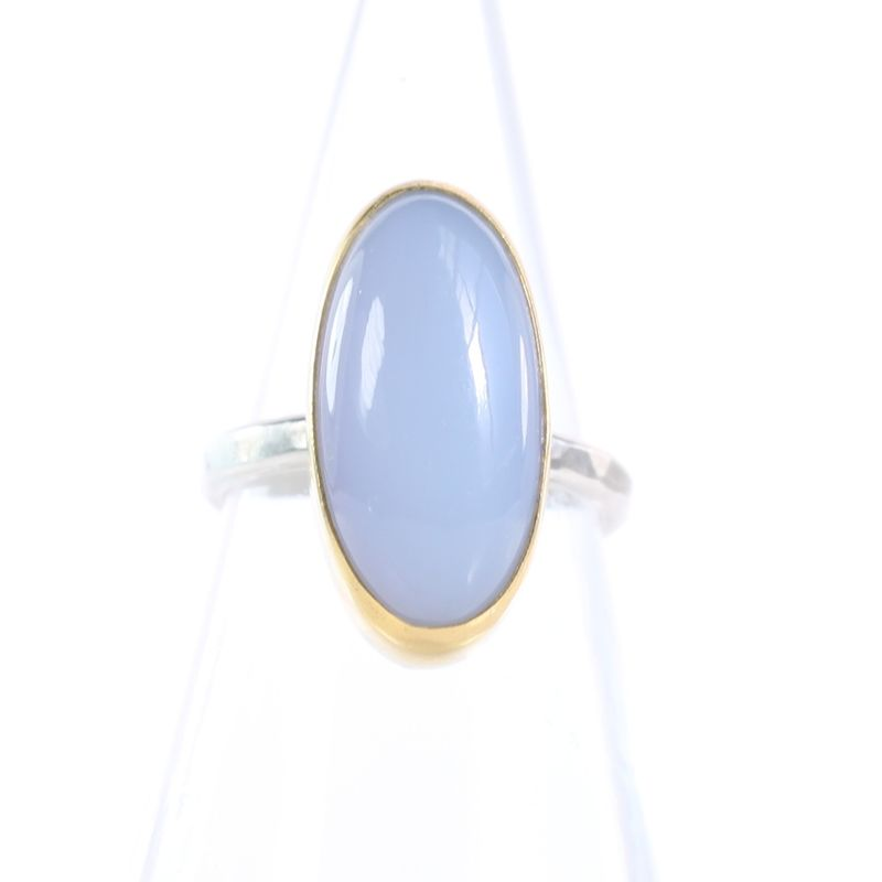 Lavender Chalcedony Ring - product images  of
