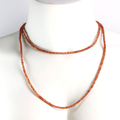 Mandarin,Garnet,Necklace,garnet_necklace_strand_mandarin_spessartite_spessartine_orange_january_birthstone_jewelry_handmade_unique_handcrafted_jewelry_ artisan _unique_gemstone _stone_new orleans