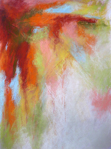 As,the,Sun,Sets,Abstract, abstract pastel, pastel art, abstract mixed media, abstract pastel mixed media,