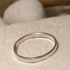 Plain,Polished,Silver,Hand,Forged,Stacking,Ring,Jewelry,hand made sterling_silver_ring, hand crafted silver_jewelry, silver_stack_ring, stacking_stacker, polished_silver_ring, stackable_ring, 2mm_ plain_silver_ring, thin_stacking_ring, hand_forged_metal, simple_minimalist__ring, everyday_ring