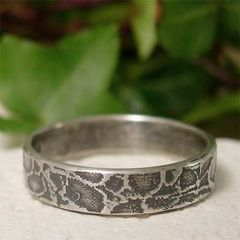 Simple,Organic,Sterling,Silver,Ring,Band,,Natural,Tangleroot,Patterned,Jewellery, Rings, Bands, organic silver, sterling silver ring, womens ring, mens ring, alternative wedding, silver ring band, simple silver ring, patterned silver, hand forged sterling, nature jewelry, distressed ring, silver wedding ring, textured ring