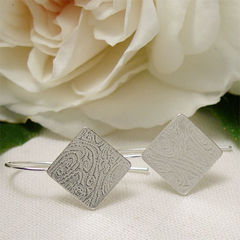Textured,Squares,Sterling,Silver,Drop,Earrings,Jewelry, Earrings, Dangle, sterling silver, square silver, silver squares, silver drop earrings, dainty earrings, textured silver, simple silver, geometric jewelry, modern earrings, minimalist earrings, jewerly gift, handmade jewelry