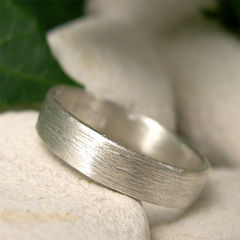 Simple,Brushed,Sterling,Silver,Ring,Band,for,Men,or,Women,handmade sterling silver ring, silver ring band, hand forged silver, brushed silver ring, simple wedding ring, contemporary jewelry, mens wedding band, womens wedding band, unisex ring, satin silver ring, everyday ring, commitment ring, promise ring