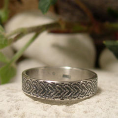 Indian,Design,Patterned,Sterling,Silver,Narrow,Band,Ring,Jewellery, Rings, Bands, sterling silver ring, silver ring band, men womens ring, narrow band ring, traditional pattern, ethnic jewellery, asian inspired, indian style ring, oxidized silver, black silver, promise ring, friendship ring, couples jewelry