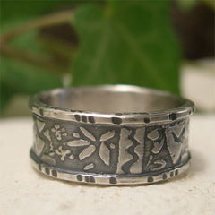 Abstract,Design,Matisse,Inspired,Sterling,Silver,Ring,Band,Jewellery, Rings, Bands, sterling silver ring, silver ring band, abstract ring, artisan silver ring, textured ring, rustic silver ring, embossed silver, silver band ring, boyfriend jewely, jewelry gift, mens ring, womens ring, silver boho ring