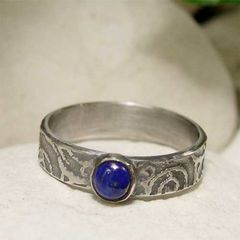 Lapis,Lazuli,Blue,Gemstone,Artisan,Ring,hand crafted Jewellery, Rings, Solitaire Rings, lapis lazuli ring, handmade silver ring, sterling silver ring, silver, gemstone ring, artisan ring, lapis ring, blue gem ring, lapis lazuli jewelry, gemstone jewelry, boho ring, cabochon ring, deep blue ston