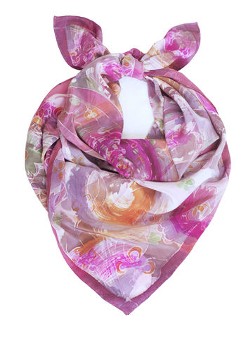 Thelma,pink,-,hand,painted,silk,scarf,hand painted, pink silk, silk scarf, pink, silk, scarf, silk scarves, luxury, gift, gifts for mum, art scarf