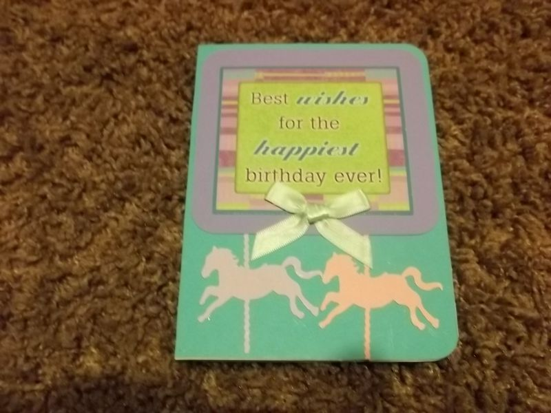 Horse theme Birthday card - product images