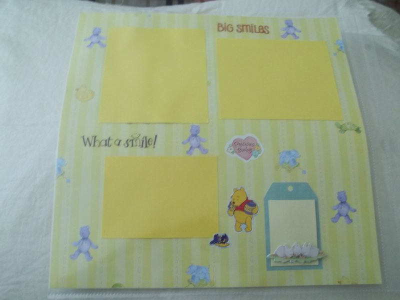 What a smile turtle scrapbook page - product images  of
