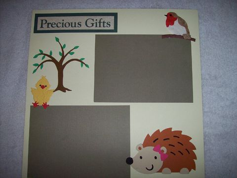 Precious,gifts,scrapbook,page,gift, scrapbook, animals