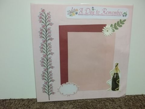 Celebration,day,premade,scrapbook,page,celebrate, scrapbook