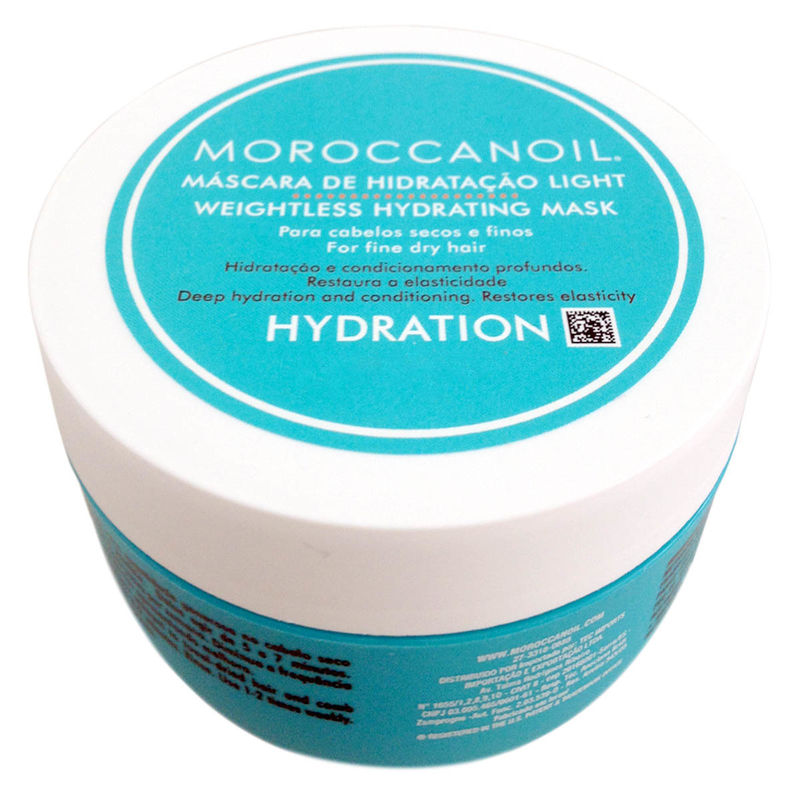 MOROCCAN OIL HYDRATING MASK LIGHT 250 MLS - product images  of