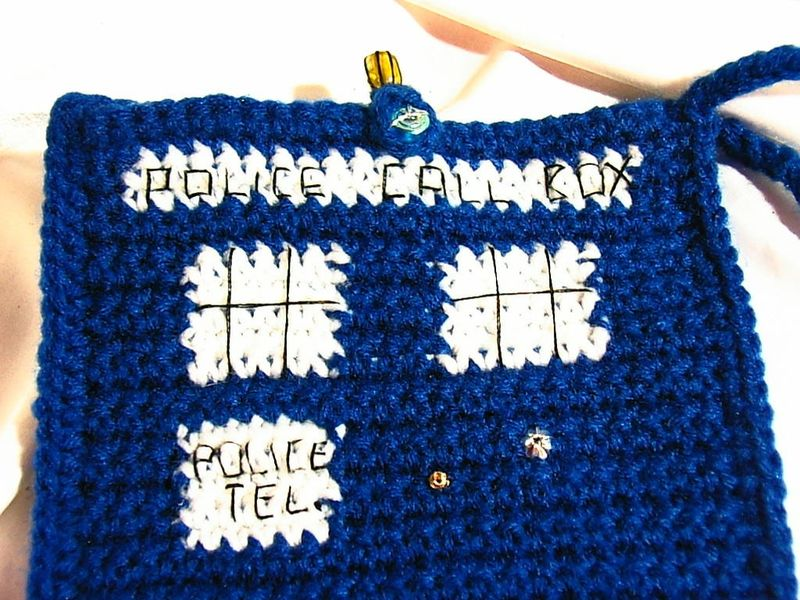 dr who tArDiS Bag- cozy for your KINDLE 3 - product images  of