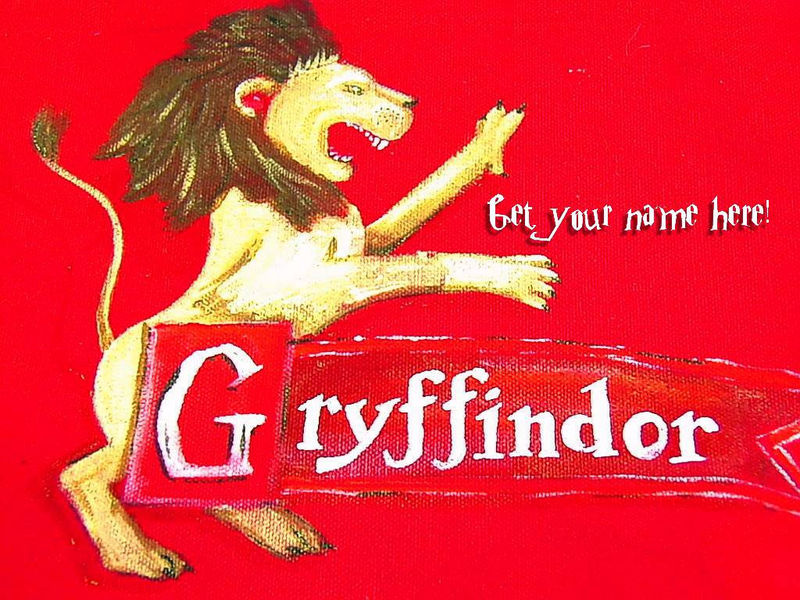 Harry Potter GRYFFINDOR House Tote, or bag perfect for KINDLE, NOOK, or E-reader - product images  of