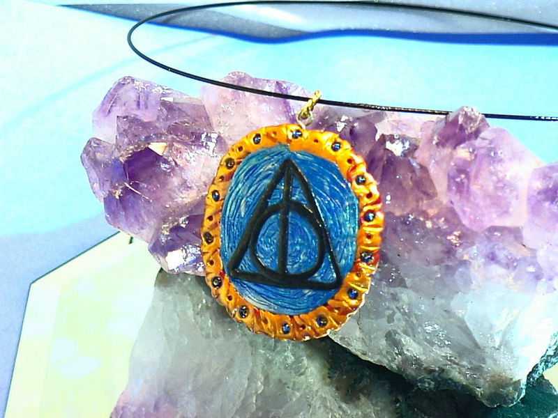 Harry Potter DEATHLY HALLOWS necklace - product images  of