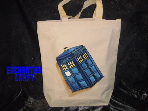 Whovian,TARDIS,tote,,bag,,or,shopping,bag-,get,your,name,on,it,for,free,geekery,gadget,accessories,science_fiction,computer,electronic,cosplay,bag,tote,dr_who,tardis,time_machine,doctor_who,tardis_bag,canvas,paint,glow_paint