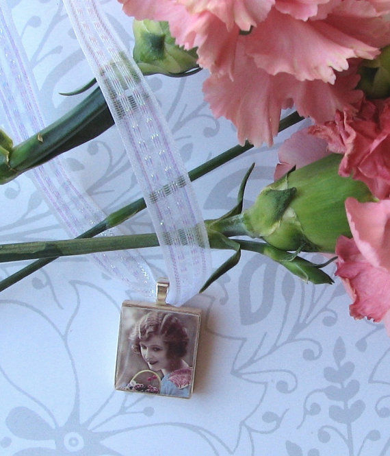 Bridal Bouquet or Boutanierre photo charm - product images