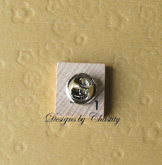 Wedding Tie Tack Custom Photo Pin - product images  of