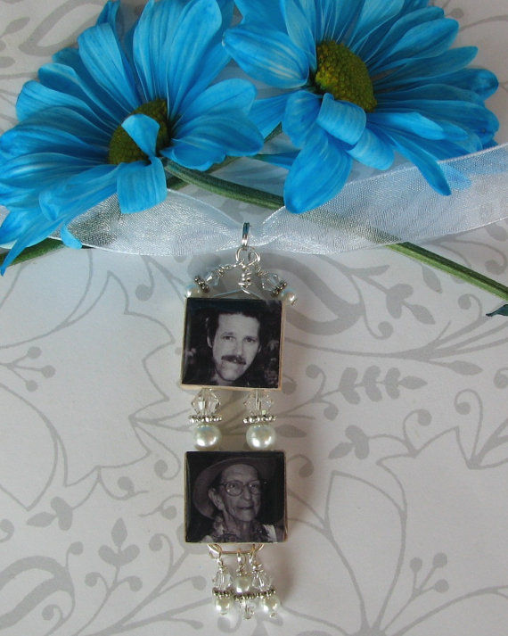 2 Tiered Bouquet Photo Charm - product images  of