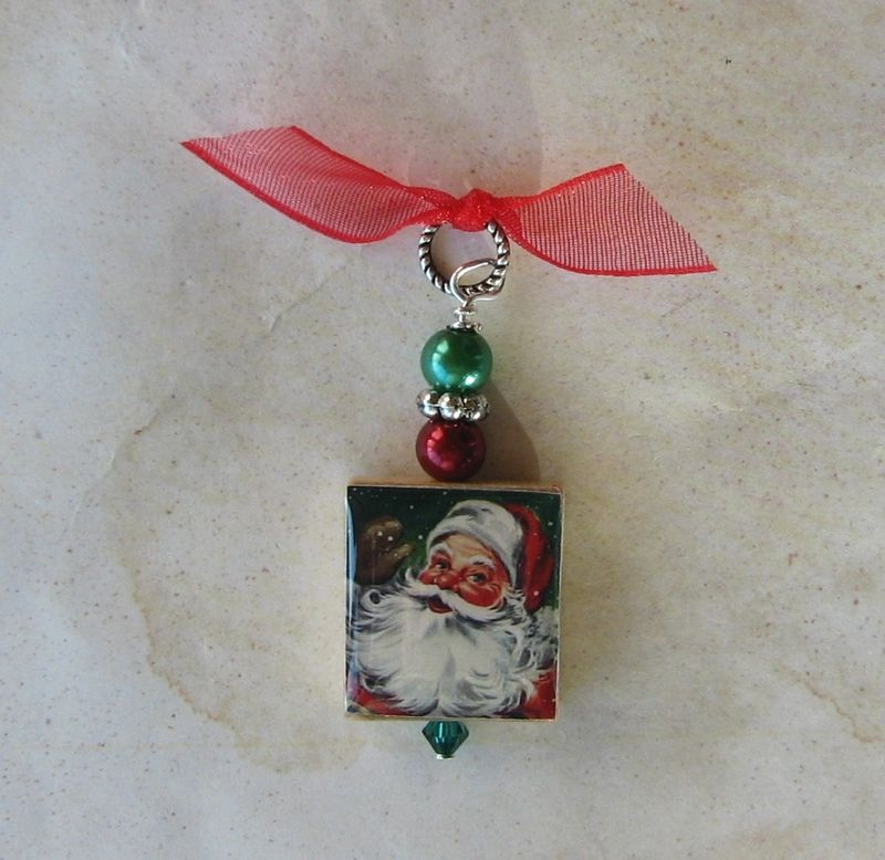 Santa Christmas Pendant - product images