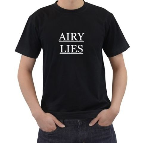 Airy,Lies,Spoiler,Tshirt,Bravely Default Square Enix RPG JRPG 3DS