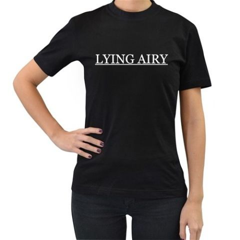 Lying,Airy,Spoiler,Tshirt,Bravely Default Square Enix RPG JRPG 3DS