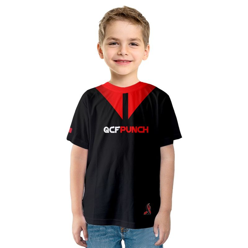 2017 QCFP Kids Team shirt - product images  of