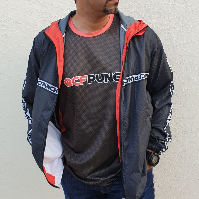 2019 QCFP Team Windbreaker Hoodie - product images  of