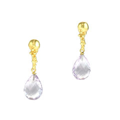 Organica Lilac Amethysts Earrings - product images 1 of 3