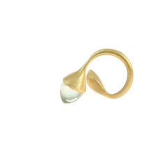 H20 Rock Cystal 18ct. Gold Vermeil - Ring - product images 2 of 3