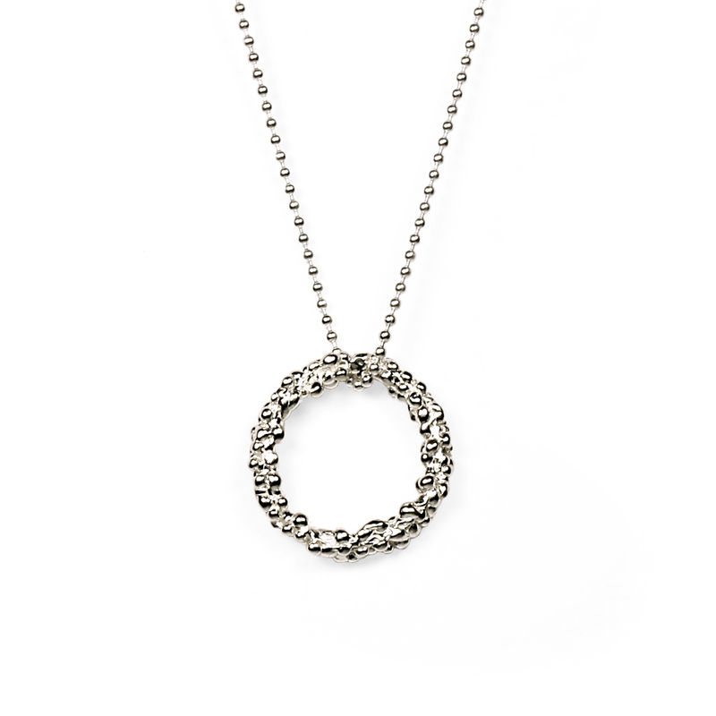 Organica Circle Pendant Necklace - product image