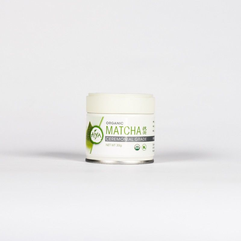 Organic Ceremonial Matcha 30g tin - product image