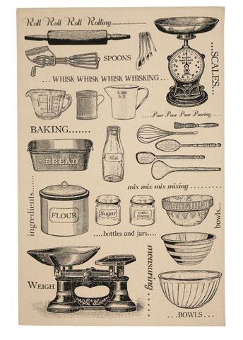 Ulster,Weavers,Baking,Tea,Towel,Ulster Weavers Baking Tea Towel, Cotton Tea Towel, Gift