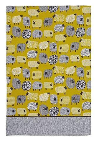 Ulster,Weavers,Dotty,Sheep,Tea,Towel,Ulster Weavers Dotty Sheep Tea Towel