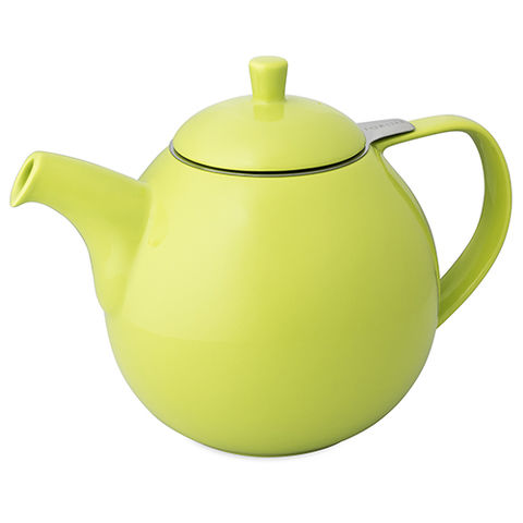 Curve,Teapot,45oz,With,Infuser,The London Tea Merchant, Curve Teapot, For Life