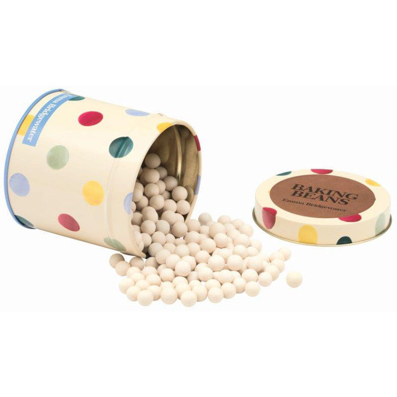 EMMA BRIDGEWATER POLKA DOT BAKING BEANS IN TIN - product image
