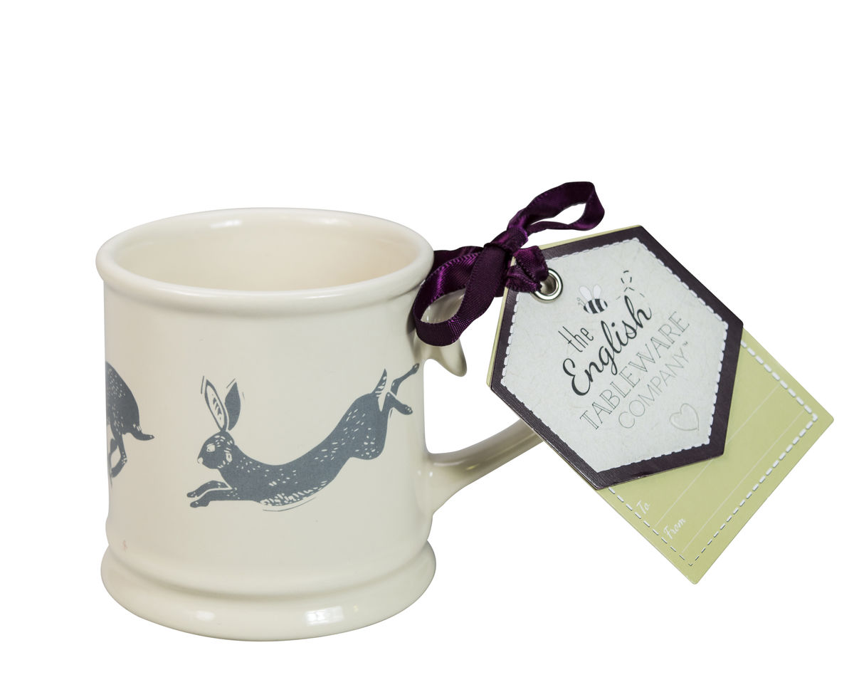 Hare Small Stoneware Tankard - product image