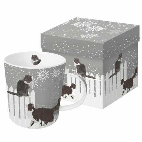 Cats,in,Snowfall,Mug,Cats_Snowfall_Mug_Giftboxed