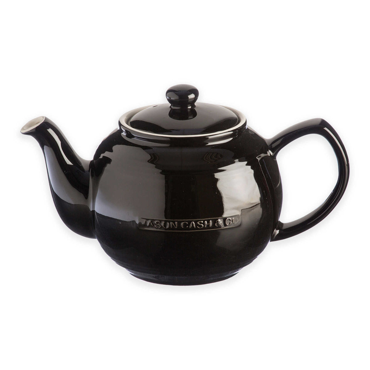 Mason Cash 37 Fl Oz Black Teapot With Infuser