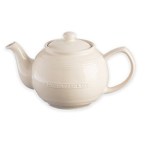 Mason,Cash,37,fl,oz,Cream,Teapot,with,Infuser,Mason_Cash_Teapot_With_Infuser
