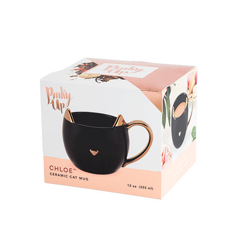 Chloe Black Cat Mug - Paws & Reflect - product images  of