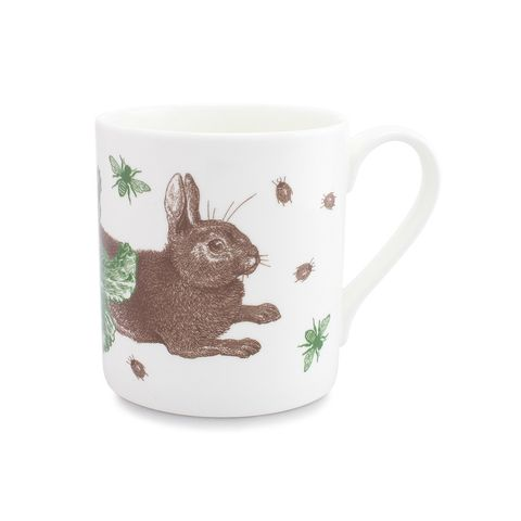 Rabbit,and,Cabbage,Mug