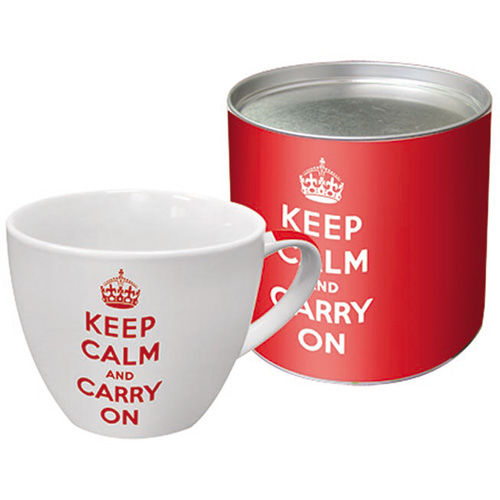 Keep Calm and Carry On BIG 18oz Mug in Box - product image